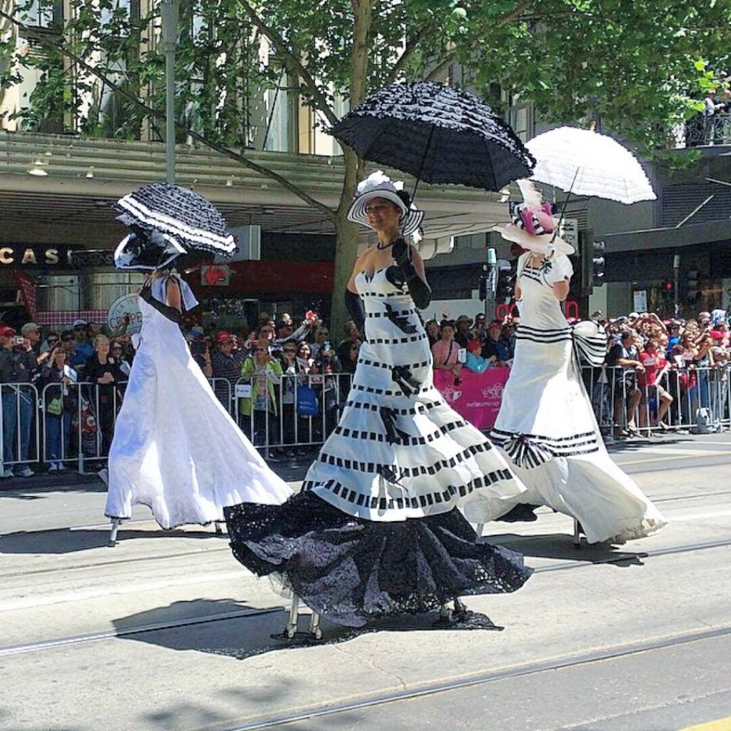 Elegant Ladies lead Cup Parade 2014