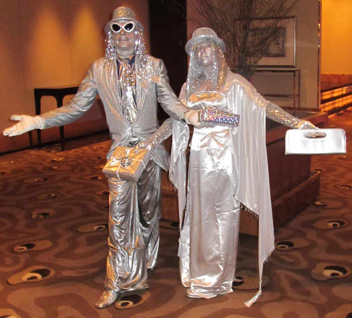 Glamorous-Silver-Statues