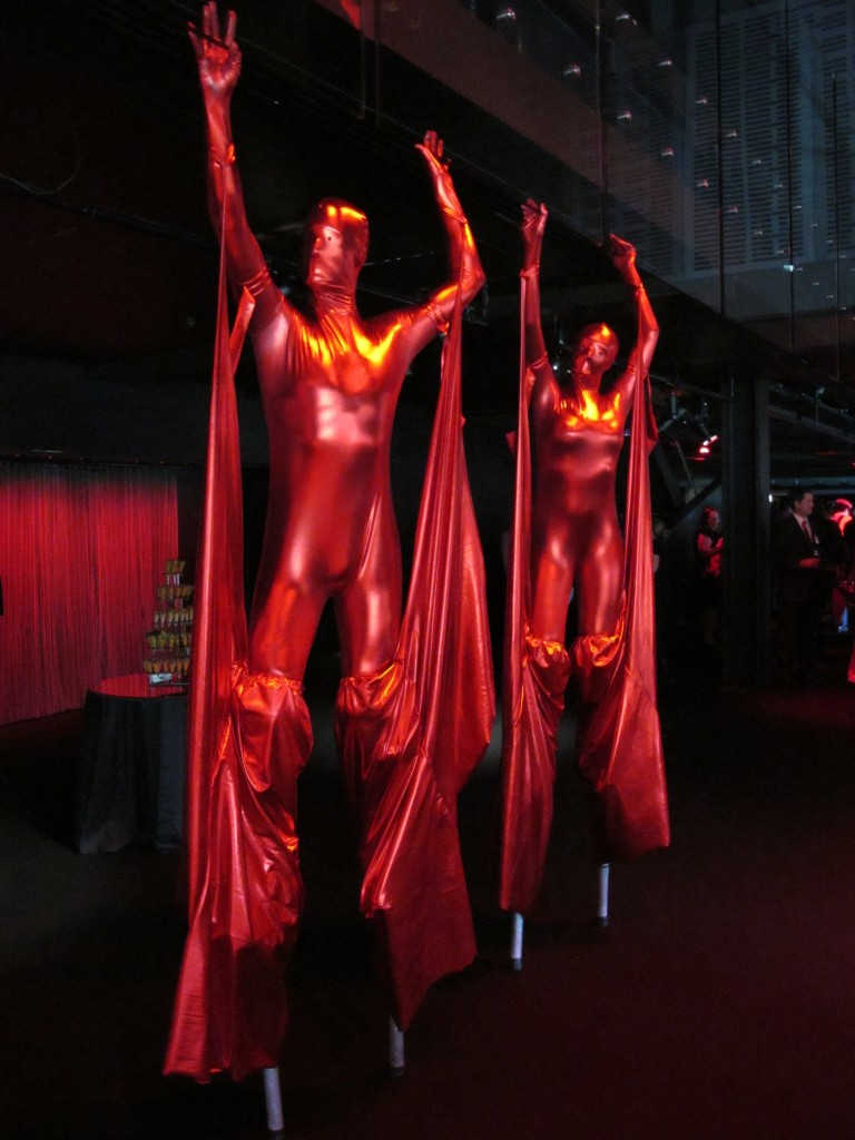 Red Suits - fire costumes